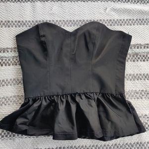 VINTAGE Black Corset top